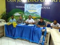 Prefeito de Monte Horebe lança oficialmente a I edição do Festival de Inverno